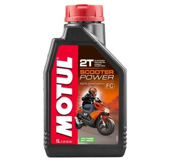 Motul 1L Scooter Power 2T olja helsyntet