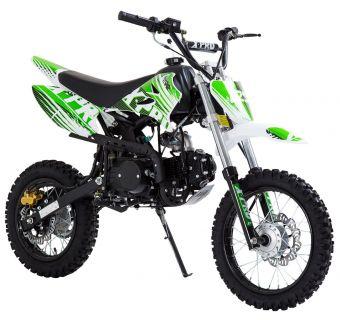 Grøn Dirtbike 125cc