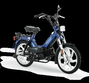 Tomos Standard Mörkblå 25km/h (klass 2 moped)