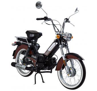 Tomos Roadie XL Svart/Brun 25km/h (klass 2 moped)