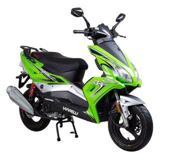 Grøn Scooter fra Viarelli